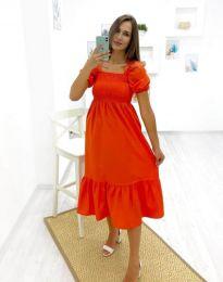Haljina - kod 3283 - 3 - narančasta