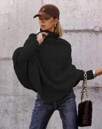 Džemper - kod 24831 - crna