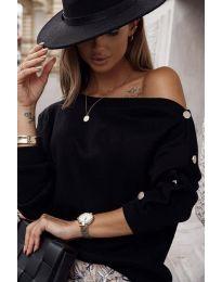 Bluza - kod 4640 - crna