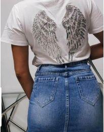 Majica - kod 547 - 2 - bijela
