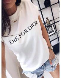 Majica - kod 406 - 1 - bijela