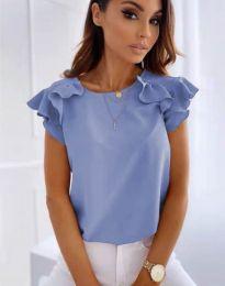 Bluza - kod 3299 - svijetlo plava