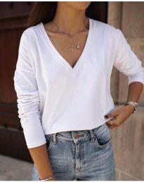 Bluza - kod 3574 - bijela