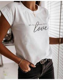 Majica - kod 3660 - bijela