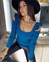 Bluza - kod 2380 - 5 - plava