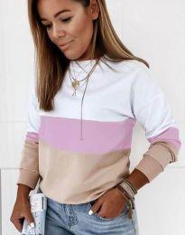 Bluza - kod 9966 - 6 - šarena