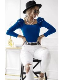 Bluza - kod 15766 - 2 - plava
