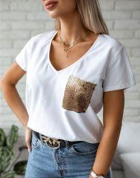Majica - kod 11631 - bijela