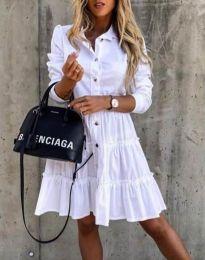 Haljina - kod 1366 - 2 - bijela
