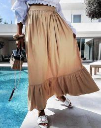 Suknja - kod 3836 - bež