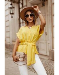 Bluza - kod 3070 - žutа