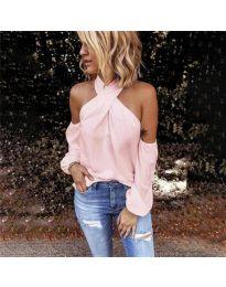 Bluza - kod 6568 - roze