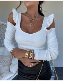 Bluza - kod 2380 - 1 - bijela