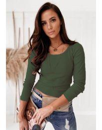 Bluza - kod 8365 - maslinasto zelena