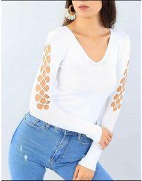 Bluza - kod 6776 - bijela