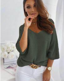 Bluza - kod 901 - maslinasto zelena