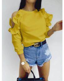 Bluza - kod 3434 - žutа