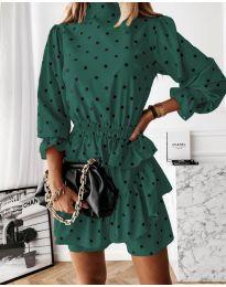 Haljina - kod 3665 - tamno zelena