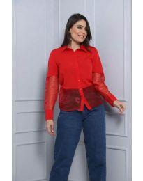 Košulja - kod 0638 - 2 - crvena