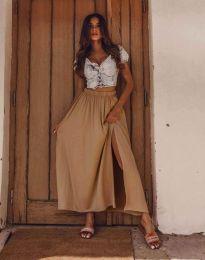 Suknja - kod 8231 - kapućino