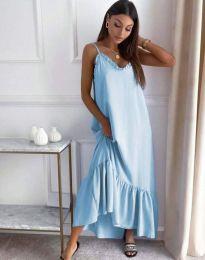 Haljina - kod 4671 - svijetlo plava
