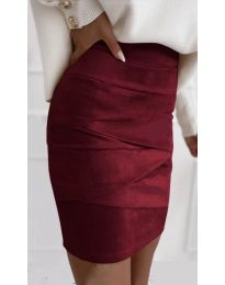 Suknja - kod 7451 - bordo