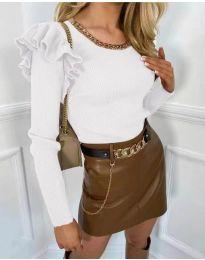 Bluza - kod 8865 - bijela