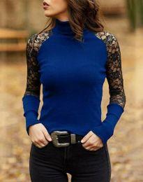 Bluza - kod 35288 - 2 - plava
