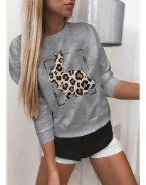Bluza - kod 3992 - siva