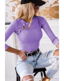 Bluza - kod 3151 - 1 - ljubičasta