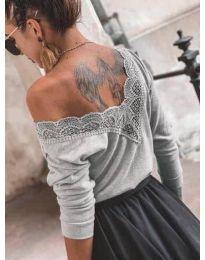 Bluza - kod 188 - siva