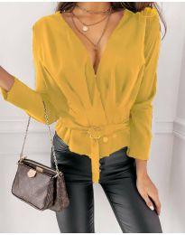 Bluza - kod 5525 - žuta