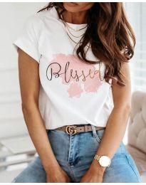Majica - kod 3709 - bijela