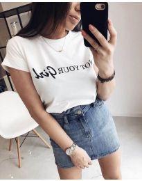 Majica - kod 978 - bijela