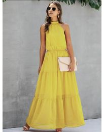 Haljina - kod 8855 - žuta