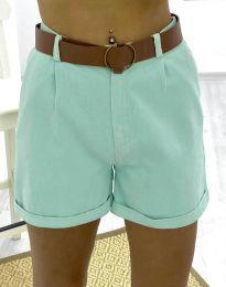 Kratke hlače - kod 2236 - 2 - menta