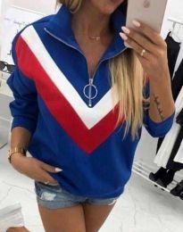 Bluza - kod 7890 - 3 - plava