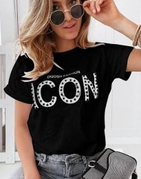 Majica - kod 4357 - crna