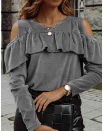 Bluza - kod 4111 - siva