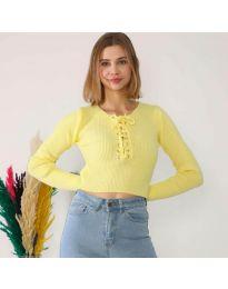 Bluza - kod 6365 - žuta