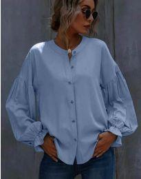 Košulja - kod 1648 - 3 - svijetlo plava