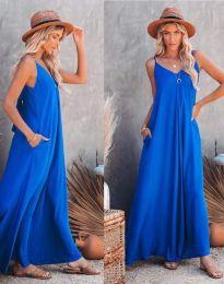 Haljina - kod 4673 - plava