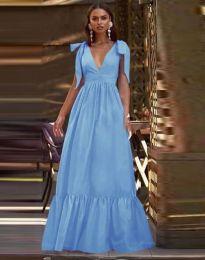 Haljina - kod 2743 - svijetlo plava