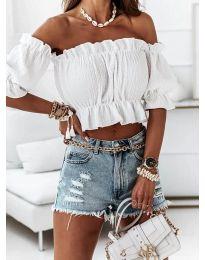 Bluza - kod 11898 - bijela