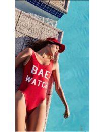 Kupaći kostim - kod 728 - crvena