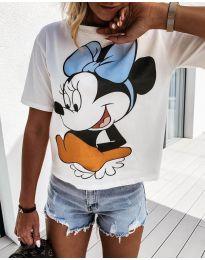Majica - kod 645 - bijela