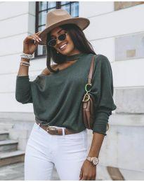 Bluza - kod 5618 - zelena