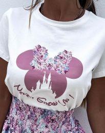 Majica - kod 1432 - bijela