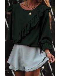 Bluza - kod 6009 - maslinasto zelena