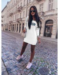 Haljina - kod 6368 - bijela